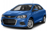 Chevrolet Sonic tire size