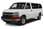 Chevrolet Express 1500 tire size
