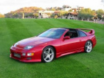 Nissan 300ZX 2-seat wheels bolt pattern