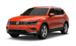 Volkswagen Tiguan Limited tire size